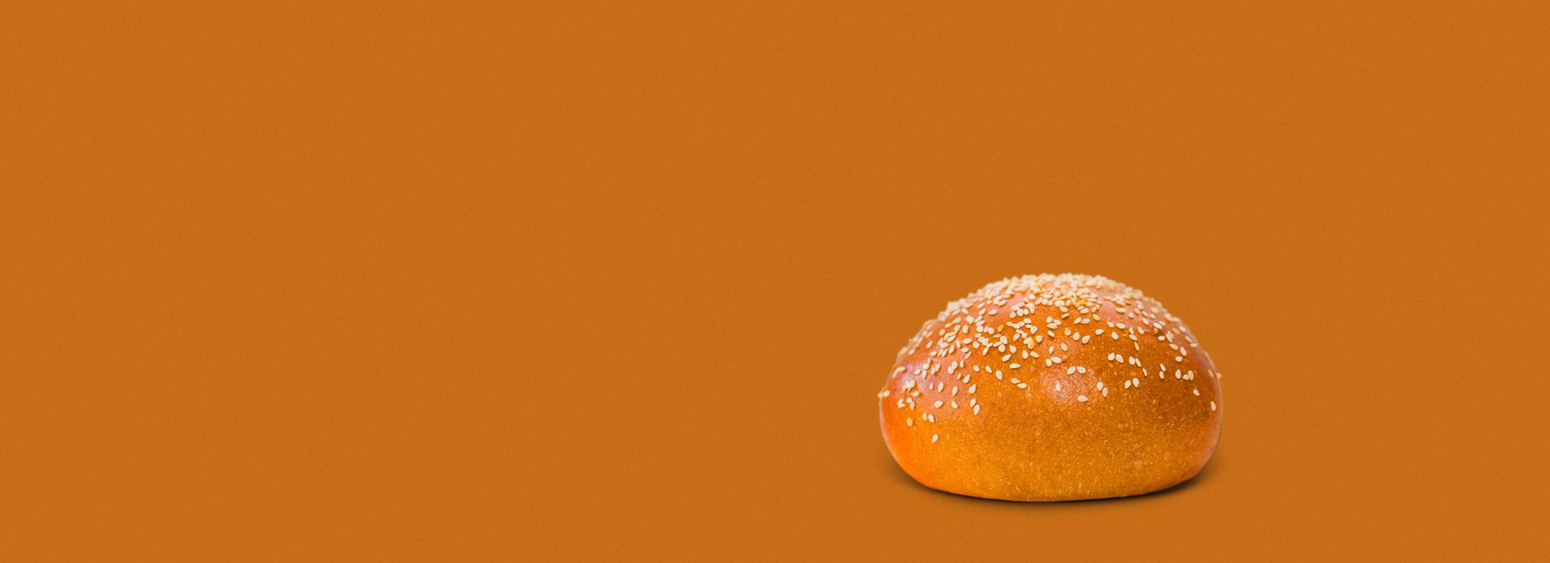 Pumpkin Brioche Bun